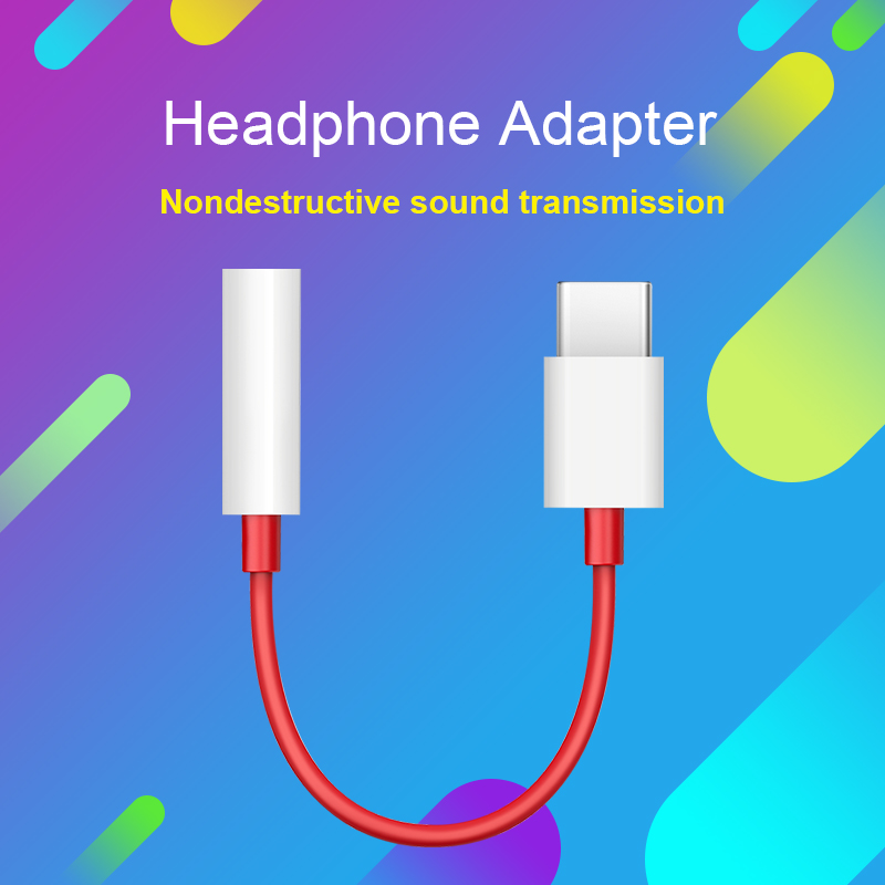 Type C To 3.5mm Headphone Jack 3.5 AUX USB C Cable For Oneplus 7T 6T 7 Pro Huawei P30 Pro Xiaomi Mi 9 8 6 Se Audio USB C Adapter