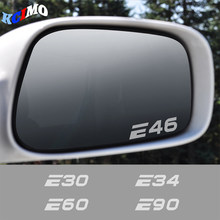 Car Rearview Mirror Vinyl Decal Sticker For BMW E39 E46 E60 E90 E28 E30 E34 E36 E53 E61 E62 E70 E87 E91 E92 E93 Car Accessories
