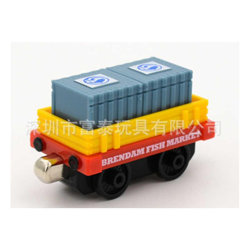 אמיתי תומאס וחברים פירות ים דגי רכב תובלה VehicleTrain חלקי 1:43 להסרה מתכת פלסטיק רכבת דגם בני צעצועים