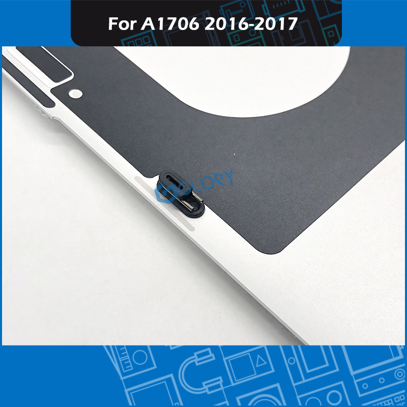 """New Laptop Silver A1706 Bottom Case for Macbook Pro Retina 13"""" Touch Bar Late 2016 Mid 2017 Lower Cover Bottom Shell Replacement-in Laptop Bags & Cases from Computer & Office    3"""