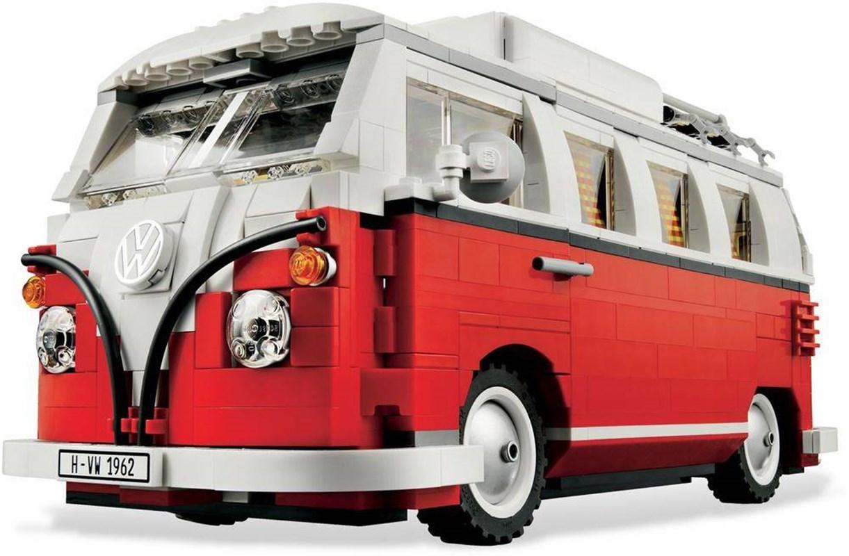 1332Pcs Volkswagen T1 Camper Van In Stock Building-Blocks Bricks Compatible Legoinglys Technic Ideas 21001 Toys Christmas Gifts