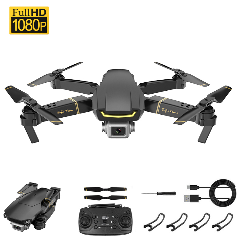 Drone 1080p HD WiFi Fpv Drone Optical Flow Hover Quadcopter One-button Return Remote Control Helicopter Drone With Camera