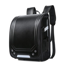 купить Disney 2019 Kid Backpack For Luxury School Bag For Boy And Girl Japanese PU Hasp Solid Randoseru Orthopedic Children Backpacks по цене 1183.35 рублей