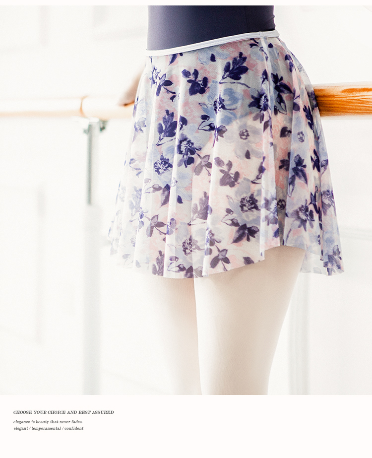 Ballet Dress Dance Leotard Women Skirt Dancewear Digital Printing Tutu Ballet Adulto Sexy Practice Skirt Ballerina