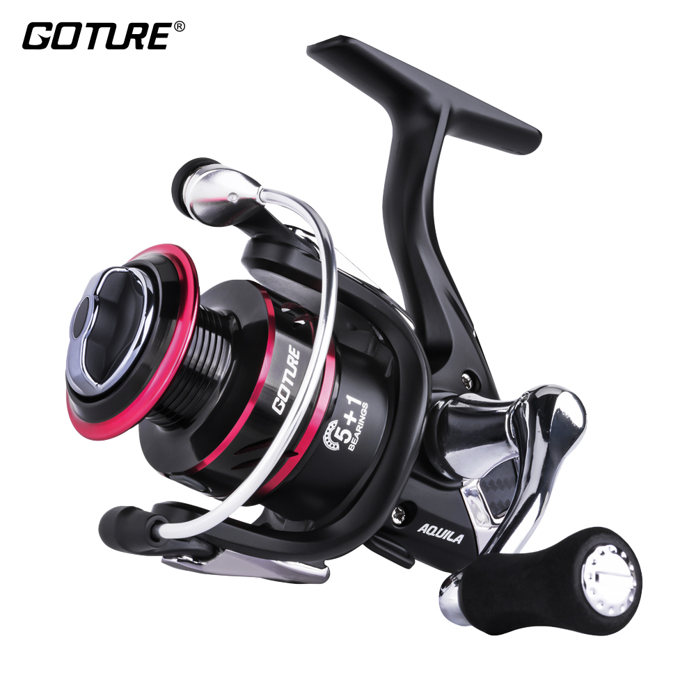 Goture AQUILA Spinning Fishing Reel Japanese Gear Strong Lightweight Sea Reel For Freshwater Saltwater Fishing Max Drag 17LB