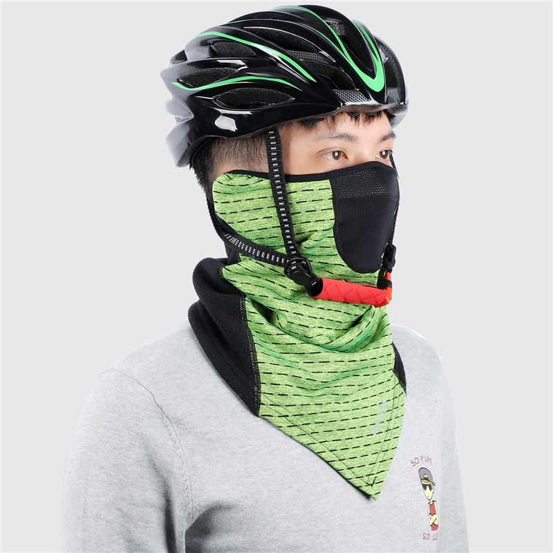 H73ed033aacd849a7afdb0caa74ff4890i - Cycling Face Mask Winter Thermal Warm Scarf Outdoor Ski Mask Running Climbing Snowboard Windproof Fleece Bike Mask