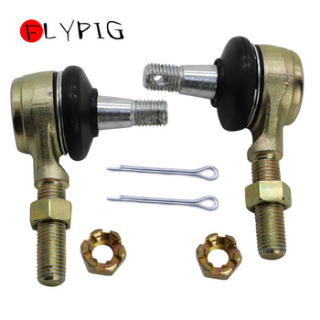 Motorcycle Parts Right And Left Tie Rod End Kit Steel Ball Joints For Yamaha Raptor 660 YFM660 YFM660R ATV 2001-2005 motorcycle parts left