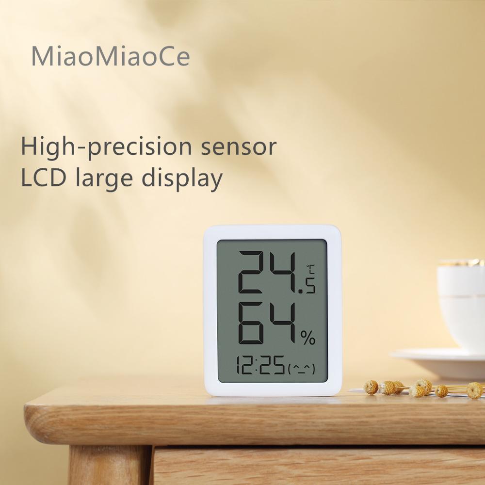 Youpin miaomiaoce MMC E-ink Screen LCD Large Digital display Thermometer Hygrometer Temperature Humidity Sensor from Youpin