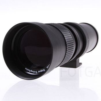 FFYY-420-800Mm F/8.3-16 Telephoto Zoom Lens For Canon  Pentax Sony Dslr Cameras