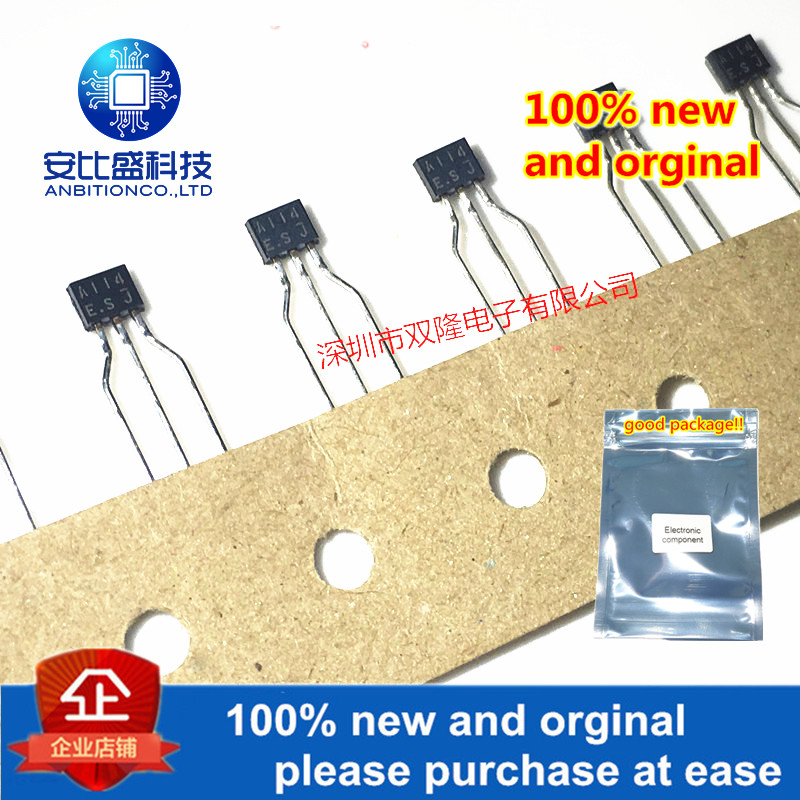 10pcs 100% New And Orginal DTC114ES C114 DTA114 A114 TO92S In Stock