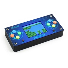 Perakende 2 inç DIY oyun konsolu GamePi20 Mini Video oyunu konsolu için ahududu Pi IPS ekran