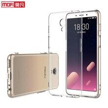 цена на case for meizu m6s clear case soft cover silicon ultra-thin funda  meizu m6 s Mofi transparent back coque 5.7