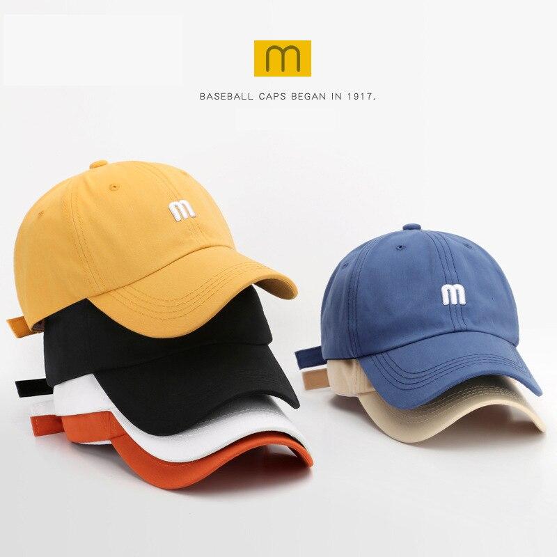 SLECKTON Mens 100 % Cotton Baseball Cap For Men Fashion Snapback Hats M Embroidery Hat Womens Casual Summer Visors Gorras Unisex