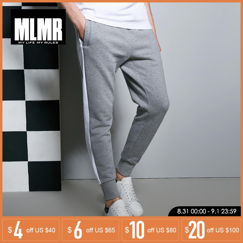MLMR Elastic Waist Sport Leisure Long Pants Trousers| 218114532