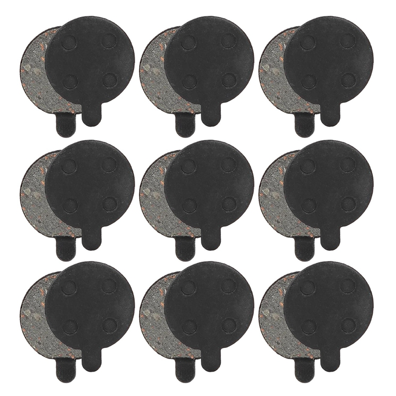 9 Pairs Scooter Disc Brake Pad Semimetal Mtb Pad for Xiaomi M365 Electric Scooter Replacement Parts