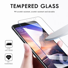 4pcs/Lot Tempered Glass Screen Protector For Xiaomi Mi 10 Lite Mix 3 Redmi 10X 8A 7A 4A 4 Note 9 8 7 Pro Explosion Proof Film(China)
