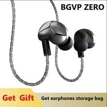 BGVP przewodowe słuchawki douszne Bass Subwoofer słuchawki HIFI DJ Monito Running sportowe słuchawki douszne redukcja szumów kabel mmcx z mikrofonem