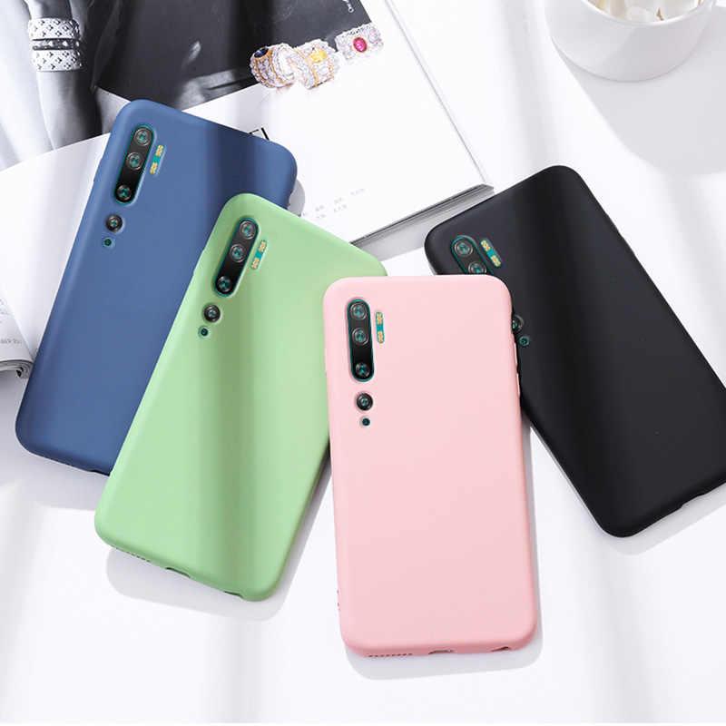 Chắc Chắn Kẹo Dẻo Silicone ICase Ngày Dành Cho Xiaomi Redmi Note 8 Pro 8A Mỏng Mềm TPU Lưng Điện Thoại Coque Funda redmi Note 7 Pro 7A
