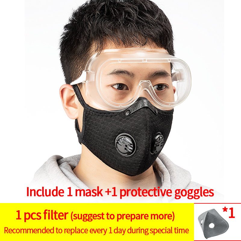 1mask and 1goggles#10
