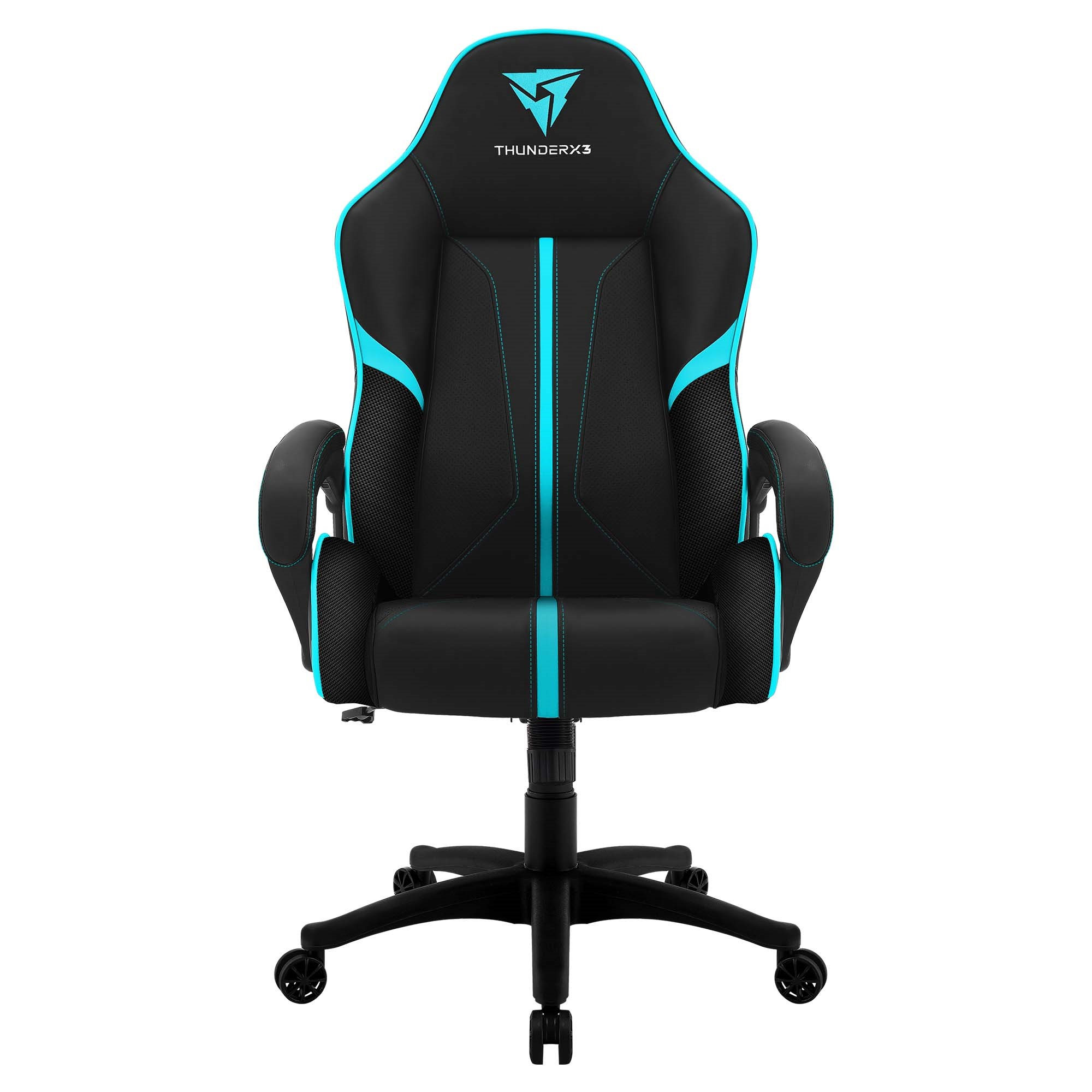 ThunderX3 BC1, Chair Gaming Ergonomic, Synthetic Leather, Technology AIR, Adjustable Height, Cyan