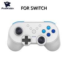 POWKIDDY – manette de jeu sans fil USB, avec fonction NFC, pour Switch Pro Joy, contrôleur pour Mini jeux vidéo