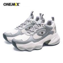 Onemix/Женская обувь для бега; Мужские кроссовки с воздушной