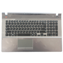 Novo teclado russo para samsung 500p7c 550p7c np550p7c np500p7c ru teclado do portátil com escudo c BA75 03791C