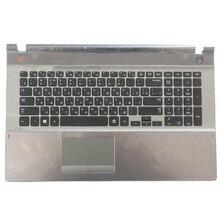 Nuevo teclado ruso para Samsung 500P7C 550P7C NP550P7C NP500P7C RU teclado para portátil con carcasa C BA75 03791C