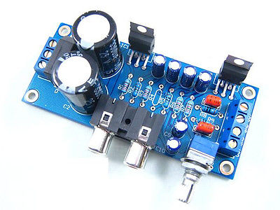 TDA2030A Power Amplifier DIY Kit 18W+18W Electronic Production diy electronics
