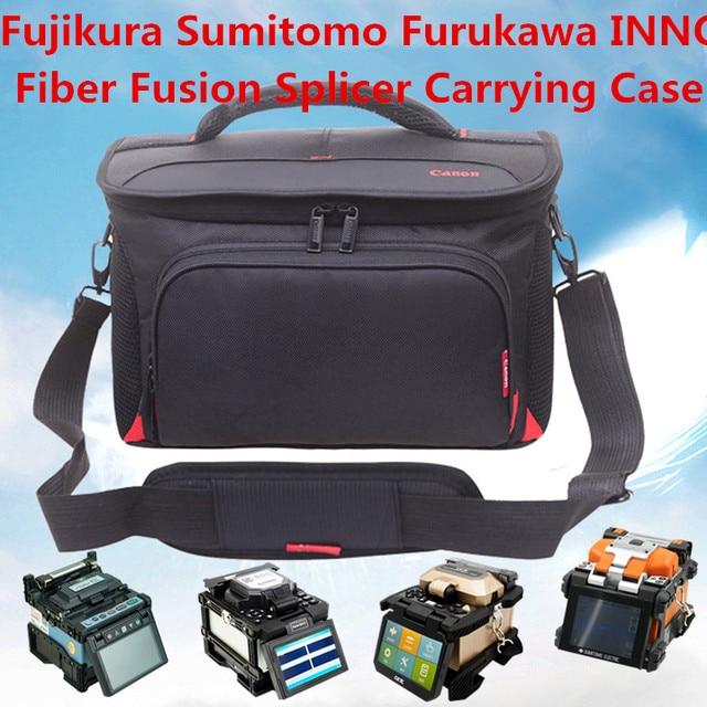 Fujikura Sumitomo INNO Fiber fusion splicer package wear resistant waterproof anti seismic melt ftth special tool bag