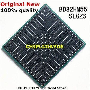 100% New BD82HM55 SLGZS BD82 HM55 IC chips BGA Chipset image