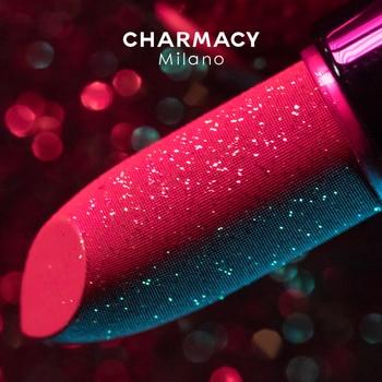 CHARMACY Shiny Metallic Lipstick Glitter Matte Lipstick Velvet Lipstick Lip Makeup Diamond Shimmer Red Lipstick Beauty Cosmetic 1