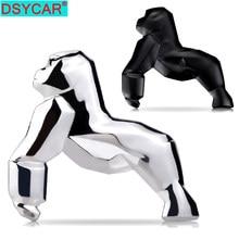 DSYCAR-pegatinas 3D personalizadas para coche, calcomanías de Metal orangután, decoración de insignia, Universal para la mayoría de coches, 1 Uds.