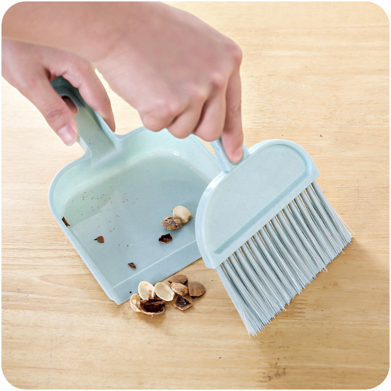 Sleepwear Broom Dustpan Pet-Cleaning-Brush Sweep Desktop Pets-Accessories Fashion-Product title=