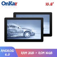 ONKAR 2019 New 10.8 inch Android Headrest Monitor RAM 2 GB ROM 16GB Built in WIFI FM Transmitter USB SD Card MP4/MP5/Bluetooth