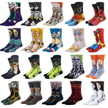Cartoon Rabbit Sock Casual Hip Hop Creative Soft Comfortable Funny Novelty Skateboard socks Men Calcetines Hombre Divertido 1