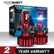 NOVSIGHT 2 個 H4 LED H3 H7 H11 車の Led ヘッドライト 9005 9006 CSP ヘッドライト電球ハイロービーム 12 V /24 V 60 ワット 10000LM フォグランプの電球オートヘッドランプランプ