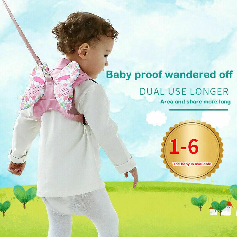 Safety Baby Kid Strap Toddler Walking Keeper Backpack Anti Lost Leash Harnesses Rein Backpack Walker Strap