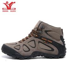 XIANGGUAN Hiking Shoes Men Outdoor Sneakers Shoes Unisex Boots Fishing
