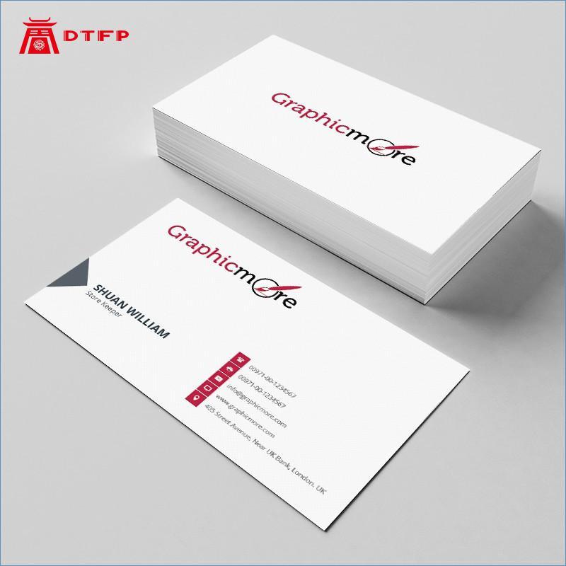 Custom Offset Printing Business Card Name Visiting Card Printed Pvc Cards