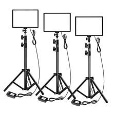SL192AI LED light Built in rechargeable battery LED camera video light optional kit photography light studio lighting