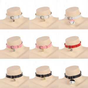 Sex Erotic Toys Accessories For Women Adult BDSM Bondage Games Cute Kawayi Collar With Bell Slave Cosplay Fetsih Necklace lolita(China)