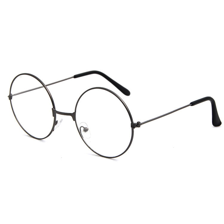Retro Round Frame Glasses Frames Women Men Student Cosplay Harry Fans Glasses With Clear Lens Women Transparent Glasses