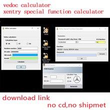 Mais novo das xentry função especial calculadora fdok vedoc keygen mb estrela c3 c4 doip c5 c6 vci