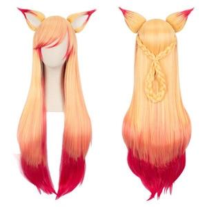 Ahri Gumiho Wig and ear Hair F
