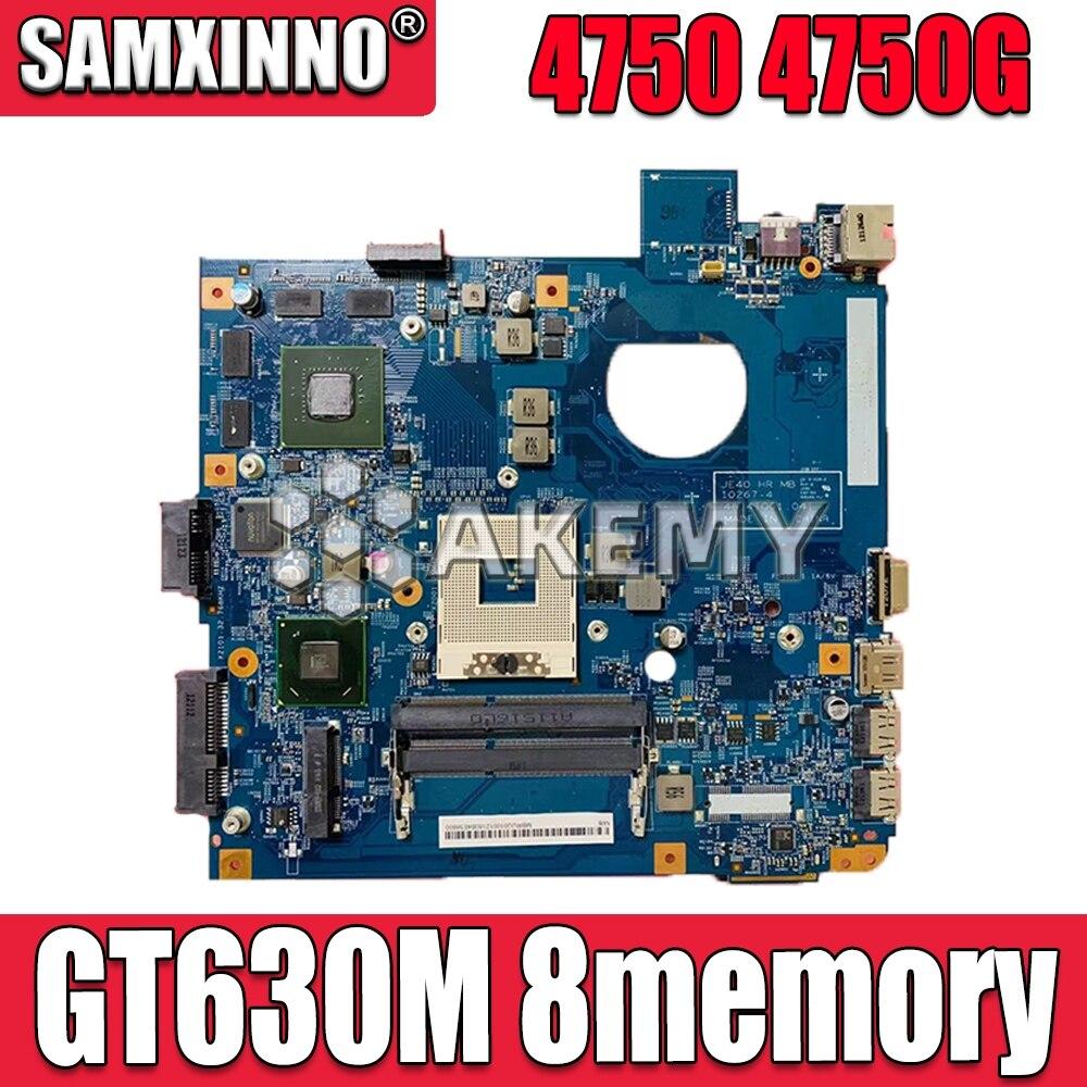 For Acer Aspire 4750 4750g 4752 4752g 4755 4755g Laptop Motherboard  Graphic 48.4IQ01.031 MBBRT01003 PGA989