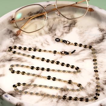 Kobiety maska łańcuch modne okulary łańcuchy perły stop antypoślizgowe antypoślizgowe koronki podkładki pod szklanki okulary ustalający tanie i dobre opinie WEALTHYBOO Brak Moc naszyjniki CN (pochodzenie) Na co dzień sportowy Akrylowe Nastrój tracker Moda Acrylic eyeglasses chain