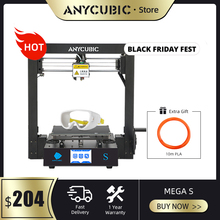 ANYCUBIC i3 Mega Mega S 3d Drucker Plus Größe Druck Plattform Voll Metall Rahmen Hohe Präzision FDM 3d drucker kit impresora 3d