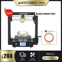 ANYCUBIC i3 메가 메가 S 3d 프린터 플러스 크기 인쇄 플랫폼 풀 메탈 프레임 고정밀 FDM 3d 프린터 키트 impresora 3d