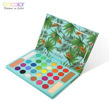Docolor Nude Eye Shadow Palette 34 Colors Matte Shimmer Glitter Eyeshadow Makeup Palette Powder Waterproof Pigmented Cosmetics 1